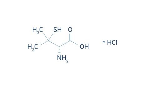 Formel-16_D-Penicillamin hydrochlorid